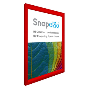 "16x24 Red SnapeZo® Return Snap Frame - 1.2"" Profile"