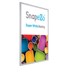"Load image into Gallery viewer, 18x24 Silver SnapeZo® Snap Frame - 0.6"" Profile"