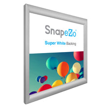 "Load image into Gallery viewer, 18x18 Silver SnapeZo® Snap Frame - 1.2"" Profile"