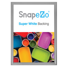 "Load image into Gallery viewer, 20x28 Silver SnapeZo® Snap Frame - 1.2"" Profile"