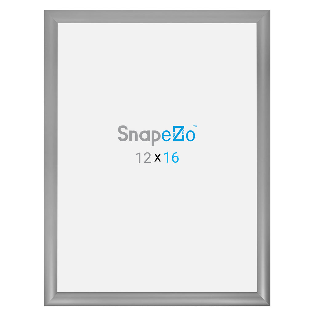 Silver snap frame poster size 18X24 - 1.2 inch profile - Snap Frames Direct