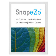 "Load image into Gallery viewer, 21x29 White SnapeZo® Snap Frame - 1.2"" Profile"