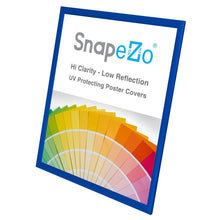 "Load image into Gallery viewer, 24x30 Blue SnapeZo® Return Snap Frame - 1"" Profile"