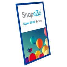 "Load image into Gallery viewer, 20x30 Blue SnapeZo® Return Snap Frame - 1"" Profile"