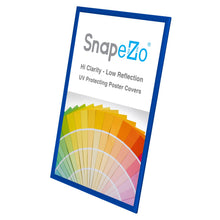 "Load image into Gallery viewer, 20x30 Blue SnapeZo® Snap Frame - 1"" Profile"
