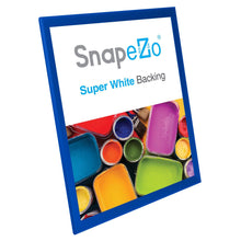 "Load image into Gallery viewer, 16x20 Blue SnapeZo® Return Snap Frame - 1.25"" Profile"