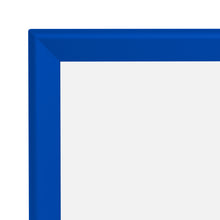 "Load image into Gallery viewer, 36x37 Blue SnapeZo® Snap Frame - 1.7"" Profile"