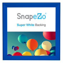 "Load image into Gallery viewer, 37x37 Blue SnapeZo® Snap Frame - 1.7"" Profile"