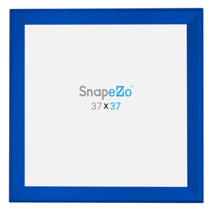 "37x37 Blue SnapeZo® Snap Frame - 1.7"" Profile"