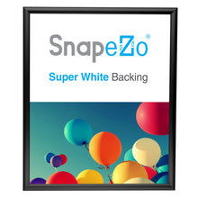 "Load image into Gallery viewer, 20x24 Black SnapeZo® Snap Frame - 1"" Profile"