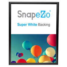 "Load image into Gallery viewer, 22x28 Black SnapeZo® Return Snap Frame - 1"" Profile"