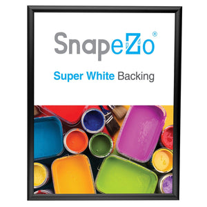 "20x26 Black SnapeZo® Return Snap Frame - 1"" Profile"