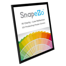 "Load image into Gallery viewer, 20x26 Black SnapeZo® Return Snap Frame - 1"" Profile"
