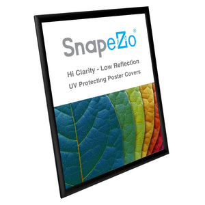 "24x30 Black SnapeZo® Return Snap Frame - 1"" Profile"