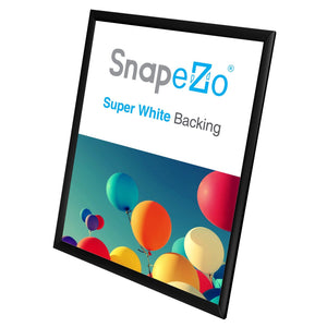 "16x20 Black SnapeZo® Return Snap Frame - 1"" Profile"