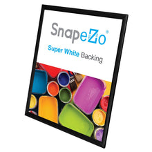 "Load image into Gallery viewer, 24x30 Black SnapeZo® Return Snap Frame - 1"" Profile"