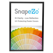 "Load image into Gallery viewer, 13x19 Black SnapeZo® Return Snap Frame - 1"" Profile"