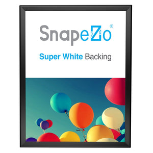 Black double-sided snap frame poster size 22X28 - 1.25 inch profile - Snap Frames Direct