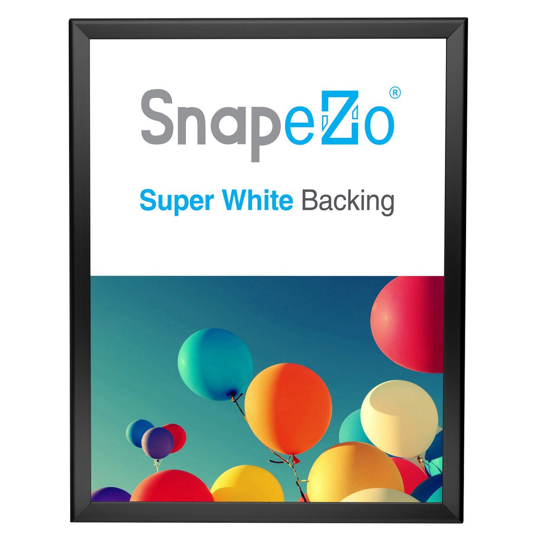 16x20 Black SnapeZo® Return Snap Frame - 1.25