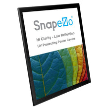 "Load image into Gallery viewer, 22x28 Black SnapeZo® Return Snap Frame - 1.25"" Profile"