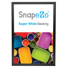 "Load image into Gallery viewer, 13x19 Black SnapeZo® Return Snap Frame - 1.25"" Profile"