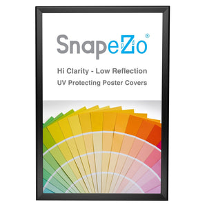 "20x30 Black SnapeZo® Return Snap Frame - 1.25"" Profile"
