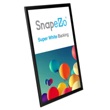 "Load image into Gallery viewer, 20x30 Black SnapeZo® Return Snap Frame - 1.25"" Profile"