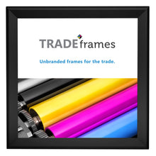 "Load image into Gallery viewer, 36x36 Black Snap Frame - 1.7"" Profile"