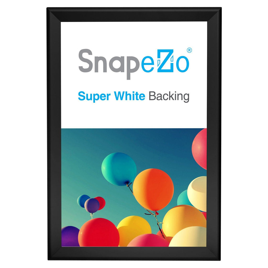 Black snap frame poster size 20X30 - 1.7 inch profile - Snap Frames Direct