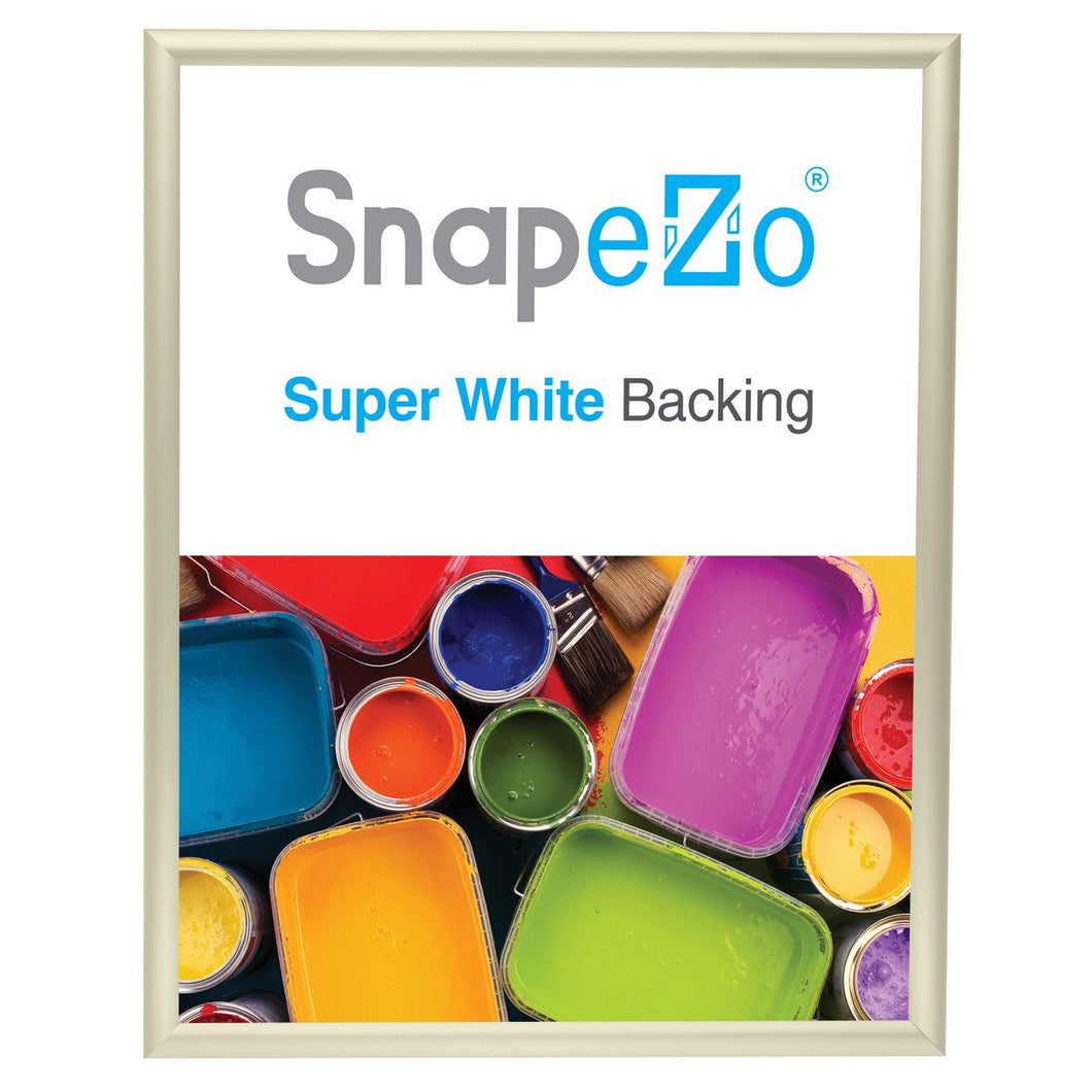 22x28 Cream SnapeZo® Return Snap Frame - 1