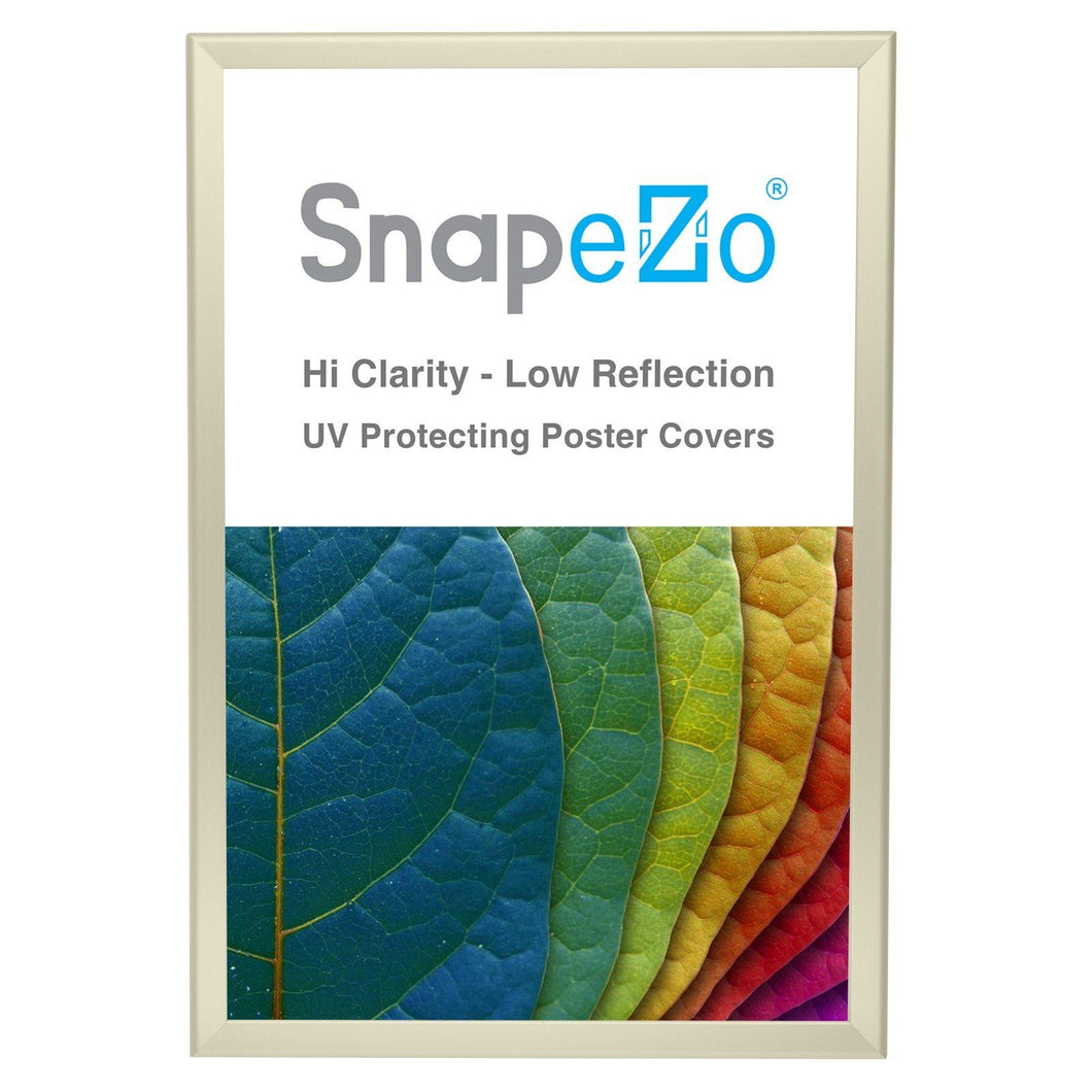 20x30 Cream SnapeZo® Return Snap Frame - 1.25