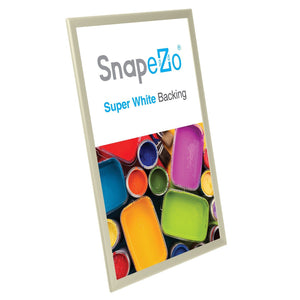 "20x30 Cream SnapeZo® Return Snap Frame - 1.25"" Profile"
