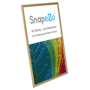 "20x30 Gold SnapeZo® Return Snap Frame - 1"" Profile"