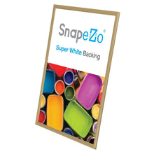 "Load image into Gallery viewer, 20x30 Gold SnapeZo® Return Snap Frame - 1"" Profile"