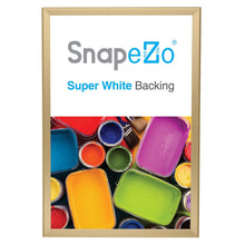 "Load image into Gallery viewer, 20x30 Gold SnapeZo® Return Snap Frame - 1.25"" Profile"