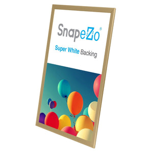 "20x30 Gold SnapeZo® Return Snap Frame - 1.25"" Profile"