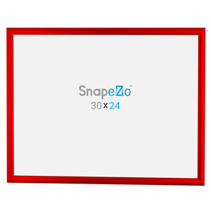"24x30 Red SnapeZo® Return Snap Frame - 1"" Profile"