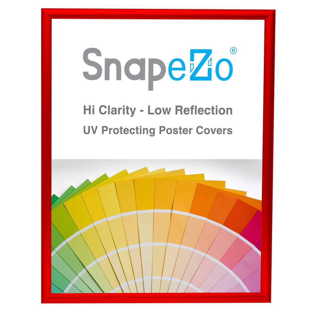 24x30 Red SnapeZo® Return Snap Frame - 1