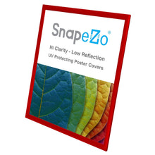 "Load image into Gallery viewer, 24x30 Red SnapeZo® Return Snap Frame - 1"" Profile"
