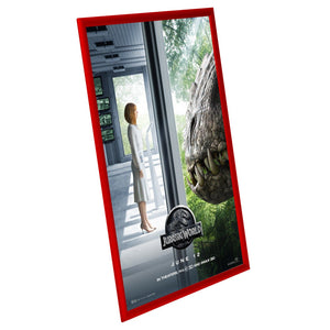 "27x40 Red SnapeZo® Return Snap Frame - 1"" Profile"