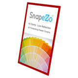 Red snap frame poster size 24X30 - 1 inch profile