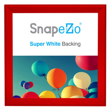 "Load image into Gallery viewer, 36x36 Red SnapeZo® Snap Frame - 1.7"" Profile"