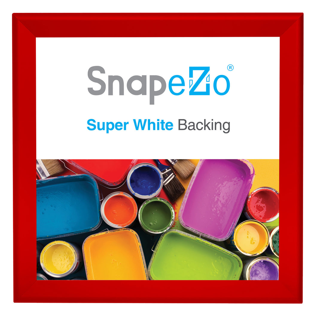36x36 Red SnapeZo® Snap Frame - 1.7