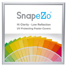 "Load image into Gallery viewer, 24x24 Silver SnapeZo® Snap Frame - 1"" Profile"