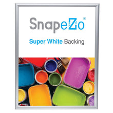 "Load image into Gallery viewer, 22x28 Silver SnapeZo® Return Snap Frame - 1"" Profile"