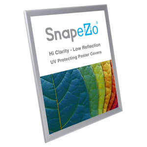 "18x24 Silver SnapeZo® Double-Sided - 1.25"" Profile"