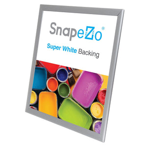 "16x20 Silver SnapeZo® Double-Sided - 1.25"" Profile"