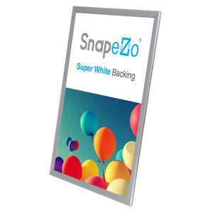 "20x30 Silver SnapeZo® Double-Sided - 1.25"" Profile"