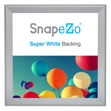 "Load image into Gallery viewer, 36x37 Silver SnapeZo® Snap Frame - 1.7"" Profile"