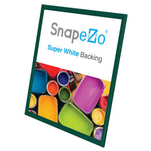 "Load image into Gallery viewer, 22x28 Green SnapeZo® Return Snap Frame - 1"" Profile"